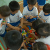 Children playing with blocks at an Early Childhood Education Centre in Binh Dinh, Vietnam. Credit: New Zealand Ministry of Foreign Affairs and Trade