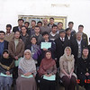 Class graduation from the Aga Khan Foundation: Programme for Professional Development Training, Bamyan, Afghanistan. Credit New Zealand Ministry of Foreign Affairs and Trade