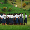 Fijian school children. Credit Pedram Pirnia