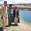 Opening of the first national park in Afghanistan, Band-e Amir lakes. Credit New Zealand Ministry of Foreign Affairs and Trade