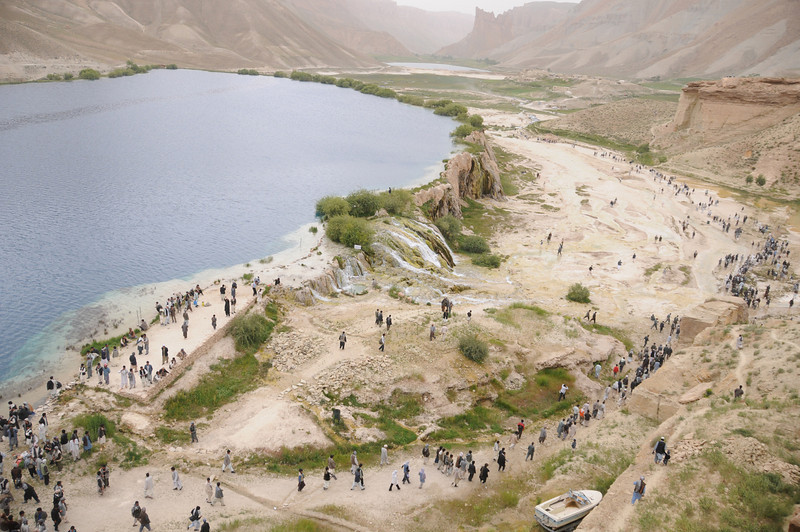 Summer festival at the Band-e Amir lakes in Bamyan, Afghanistan. Credit: Aga Khan Foundation
