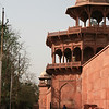 Barracks beside the Taj Mahal in Agra, India. Credit: Felicity Roxburgh