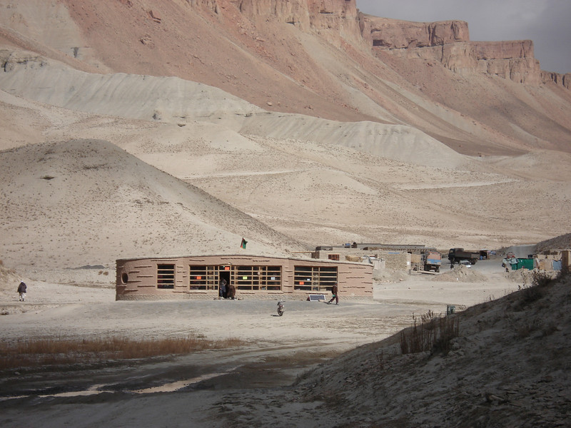 Band-e Amir visitor centre in Bamyan, Afghanistan. Credit: New Zealand Ministry of Foreign Affairs and Trade