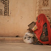 Women at Mehrangarh fort -Jodhpur, India. Credit: Felicity Roxburgh