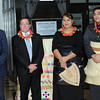Scenic Hotels Managing Director, Brendan Taylor, left, Minister of Foreign Affairs Minister, Murray McCully, Princess Frederica and his Serene Highness Prince Tungi at the opening of the Tonga Scenic Hotel, Pacific Mission 2012, Nuku'alofa, Tonga, Tuesday, July 24, 2012. Credit:SNPA / Ross Setford
