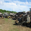 "Old cars are collected as part of  ""Operation Clean Up"" a Niue Government  inititaive to improve the  environment and promote itself as a niche tourist destination, Niue, 2010. Credit: New Zealand Ministry of Foreign Affairs and Trade"
