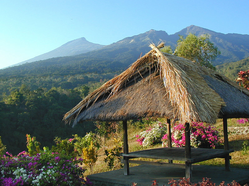 Gunung Rinjani National Park, Lombok - Ecotourism project, Indonesia. Credit: New Zealand Ministry of Foreign Affairs and Trade