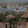 View of Jodphur - the blue city. Jodphur is the second largest city in Rajasthani, India. Credit: Felicity Roxburgh