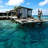 5 Pearl farming in Manihiki's lagoon. Credit: Cook Islands Pearl Authority