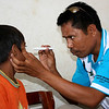 Eye examiniation. Credit: A Palagyi, Fred Hollows Foundation