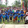Rubukim villagers perform for visiting NZ Delegation (East Sepik Women and Children's Health Project), Papua New Guinea. Credit: New Zealand Ministry of Foreign Affairs and Trade