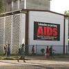 HIV/AIDS billboard, Papua New Guinea. Credit: Steven Nowakowski