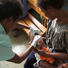 Oral immunisation at Mutzing District Hospital, Papua New Guinea. Credit: Steven Nowakowski