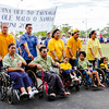 Parade at the Parliament grounds on Samoan Independence Day, 1 June 2012. Credit Office of the Governor General