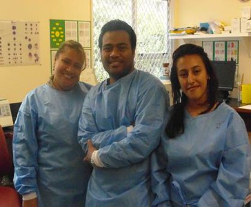 PPTC Blood Transfusion Course in November 2014 in Wellington