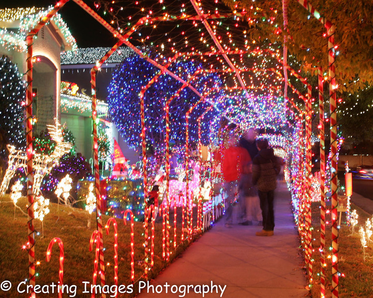 Roseville Christmas Lights - Creating Images Photography