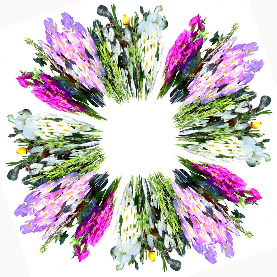 Jan's Flowers~7010-2pcs.