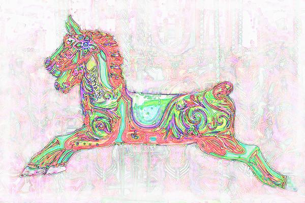 Carousel Horse 2~7431-5fe.