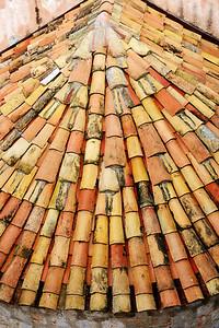 Roman tiled Roof~4239-1.