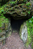 Ice Cave at Bixby State Preserve near Edgewood in Northeast Iowa<br /> <br /> July 02, 2012