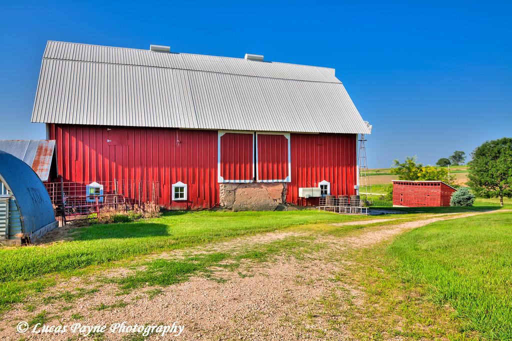 Barn in Northeast Iowa.<br /> June 30, 2011<br /> HDR