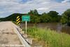 Highway 13 bridge over the Turkey River in Elkader, Iowa.