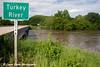Turkey River in Elkader, Iowa.