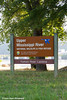 Upper Mississippi River National Wildlife & Fish Refuge sign at the Turkey River Landing near Millville in Northeast Iowa<br /> <br /> July 11, 2012