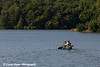 Family canoeing on Lake Macbride at Lake Macbride State Park near Solon, Iowa<br /> <br /> July 10, 2012