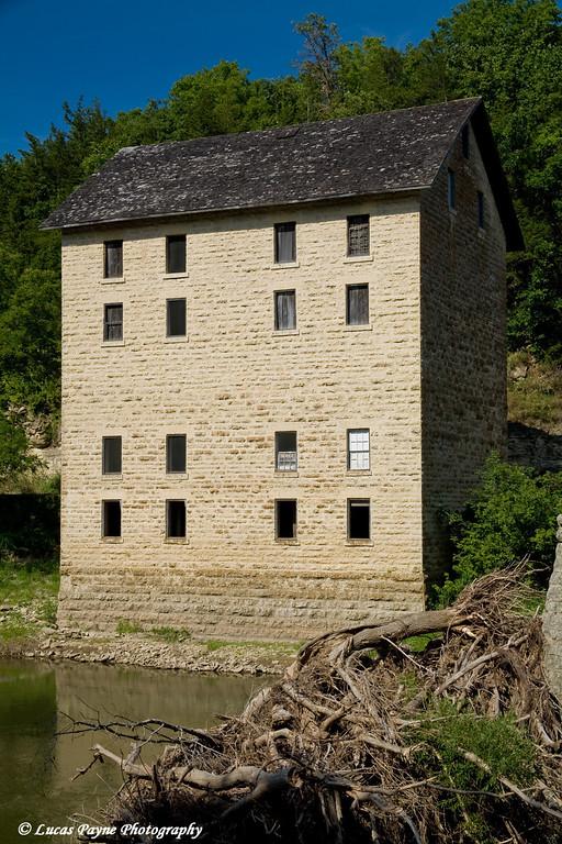 Motor Mill along the Turkey River near Elkader, Iowa<br /> August 17, 2008