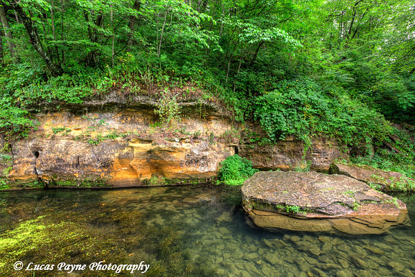 Little Paint Creek at Yellow River State Forest in Northeast Iowa<br /> <br /> July 12, 2012