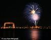 July 4th fireworks in Duluth, Minnesota