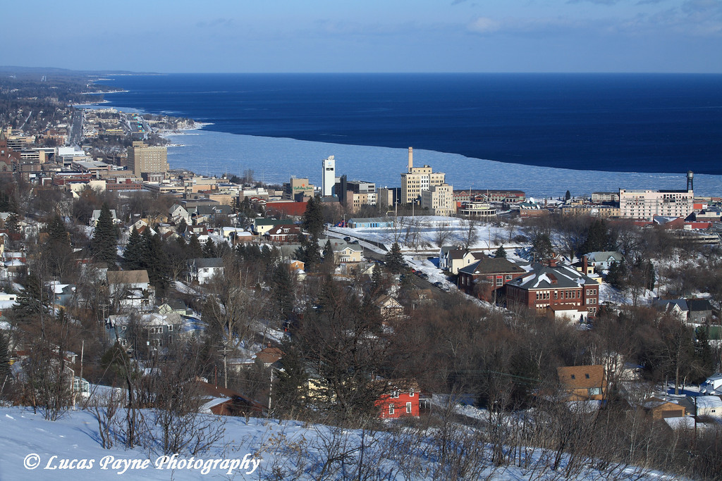 Duluth from the Skyline Parkway.