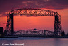 Aerial Lift Bridge Sunrise <br /> Duluth, Minnesota