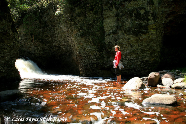 Melissa At Kadunce River Gorge