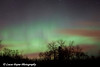 The Aurora Borealis photographed at Kitchi Gammi Park just outside Duluth, MN