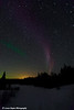 Aurora Borealis along the Gunflint Trail in Northern Minnesota.