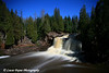 Moonlight At Upper Falls-<br /> Gooseberry Falls State Park Minnesota