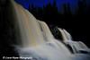Moonlight At Middle Falls-<br /> Gooseberry Falls State Park Minnesota