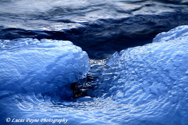 Lake Superior Blue Ice