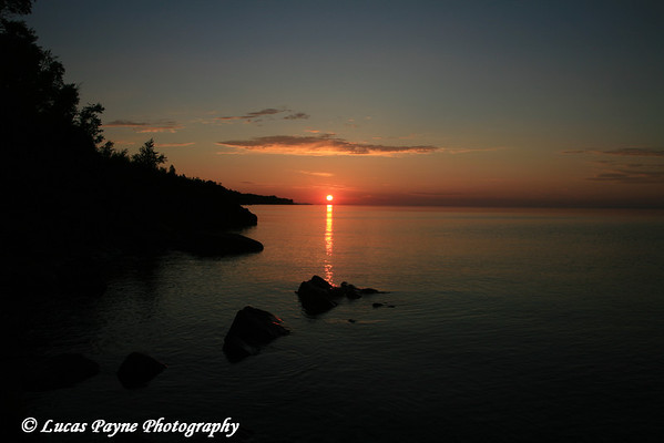 Lake Superior North Shore Sunrise Minnesota
