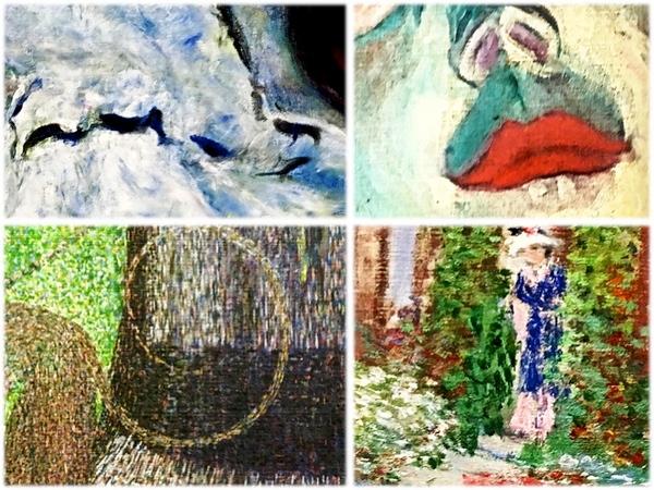 """The Art Institute of Chicago was founded in 1879, and is one of the oldest and largest museums in the United States, second only to the Metropolitan Museum of Art in New York City. It is home to nearly 300,000 works of art from all over the world, but the museum is most celebrated for its collection of impressionist and post-impressionist paintings, widely regarded as one of the finest outside of France. The collection includes notorious classics such as Pierre-Auguste Renoir, Paul Cézanne, Claude Monet, Henri de Toulouse-Lautrec, Camille Pissarro, and Édouard Manet.   During a recent visit to this museum, GSP captured images of very small sections of four famous impressionist paintings. And this month, as part of our ongoing efforts to support art education, we would like to present to you with a challenge: identify the four paintings, and their respective artists.  Those contestants who correctly identify all four paintings and artists, will be entered in a raffle to win an 11x14 matted print of GSP's """"Yucatan Embroiderers"""", shown below. One winner will be selected from amongst all correct answers received.  So, get to work, art enthusiasts! Please send your answers via email before midnight on July 31. The winner will be announced in our August 2019 newsletter. Good luck!  ****  El Instituto de Arte de Chicago se fundó en 1879 y es uno de los museos más antiguos y grandes de los Estados Unidos, superado solo por el Museo Metropolitano de Arte de la ciudad de Nueva York. Es el hogar de casi 300,000 obras de arte de todo el mundo, pero el museo es más famoso por su colección de pinturas impresionistas y post-impresionistas, ampliamente considerada como una de las mejores fuera de Francia. La colección incluye clásicos notorios como Pierre-Auguste Renoir, Paul Cézanne, Claude Monet, Henri de Toulouse-Lautrec, Camille Pissarro y Édouard Manet.  Durante una visita reciente a este museo, GSP capturó imágenes de secciones muy pequeñas de cuatro pinturas impresionistas f"""