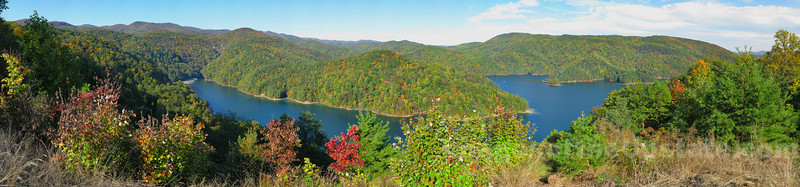Lake Jocassee in Early Autumn