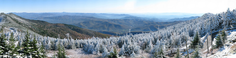 First Snow on Mt. Mitchell