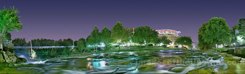 Falls Park at Night #1