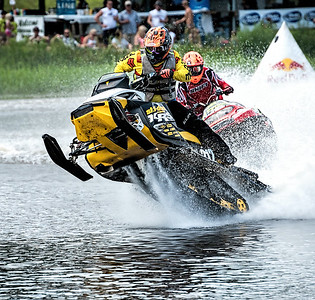 Snowmobile Water Racers