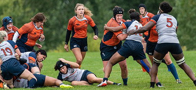 Rugby: Physical Play and Gritted Determination