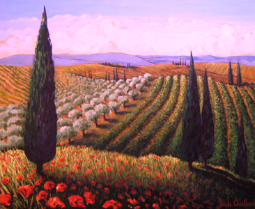 Tuscan Daydream  SOLD
