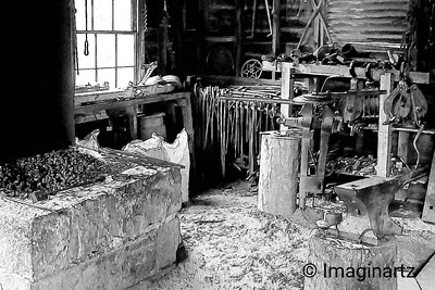 Farrier Shed at Sovereign Hill - Ballarat-Victoria-Australia