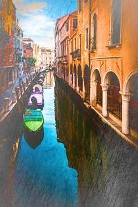 Venetian Canal Textures